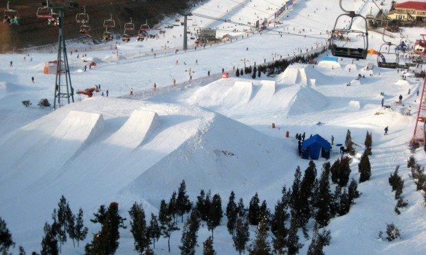 """""""Snowboarding Nanshan Ski Village"""""""
