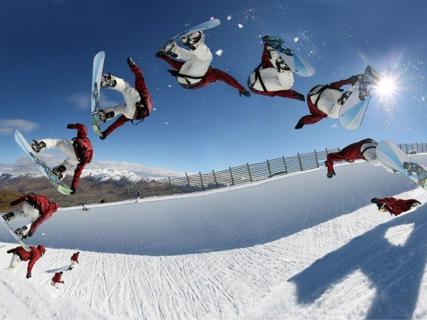"""Snowboarding Oslo Vintrerpark"""