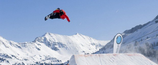 """Snowboarding at Arber"""