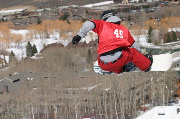 """Snowboarding at Canyon Ski Area"""