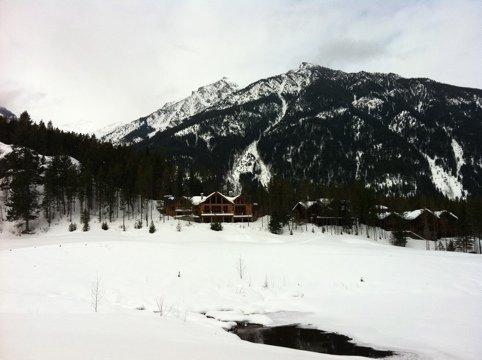 """""""Snowboarding at Panorama Mountain Village"""""""
