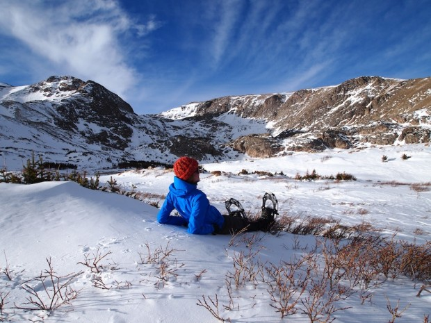 """""""Snowshoeing at Crested Butte Mountain Resort"""""""