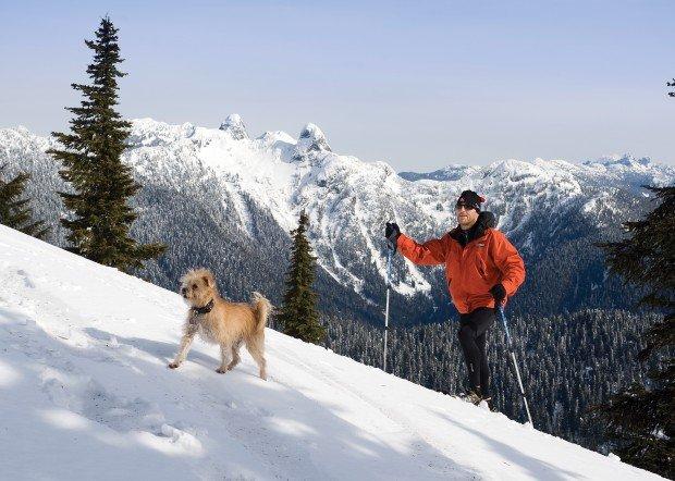 """""""Snowshoeing at Cypress Mountain"""""""