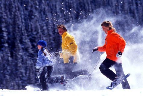 """""""Snowshoeing"""""""