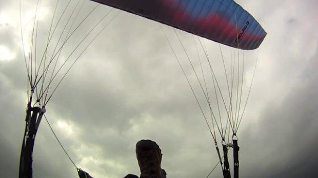 """Speed flying at Ben Nevis"""