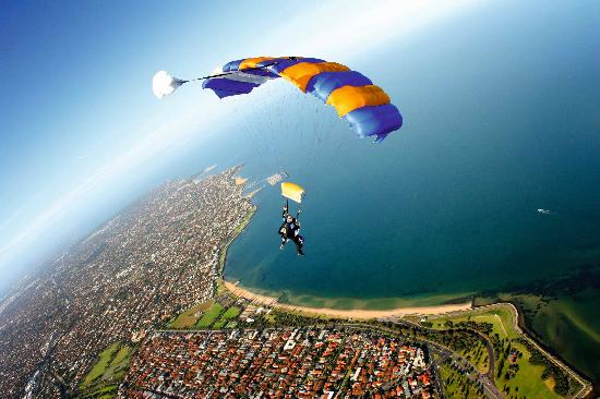 """St. Kilda, Victoria Skydiving"""
