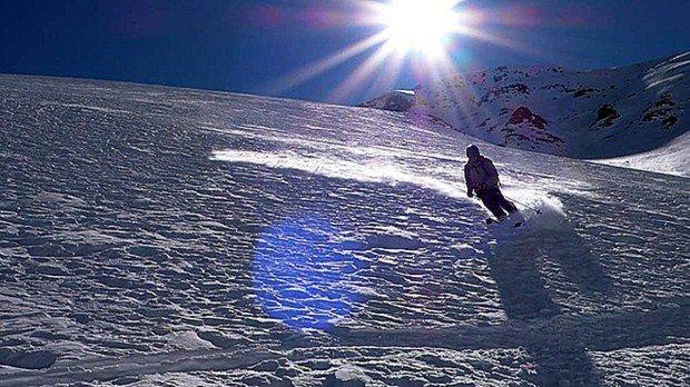 """""""Sunshine Village Skiboarding"""""""