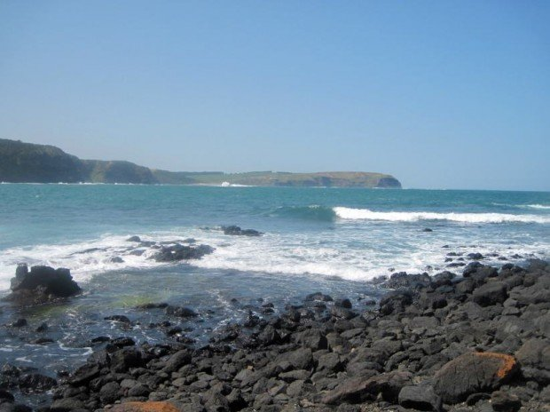 """""""Surfing at Cape Schanck"""""""