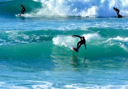 """""""Surfing at Cove Queensland"""""""
