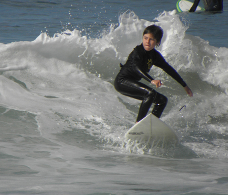 """""""Surfing at Kings Beach"""""""