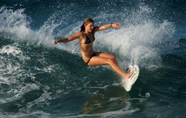 """""""Surfing at Ponta Do Ouro"""""""