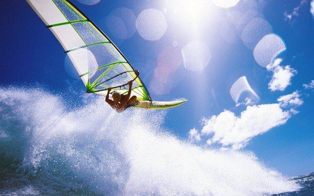 """'Wind surfing"""""""