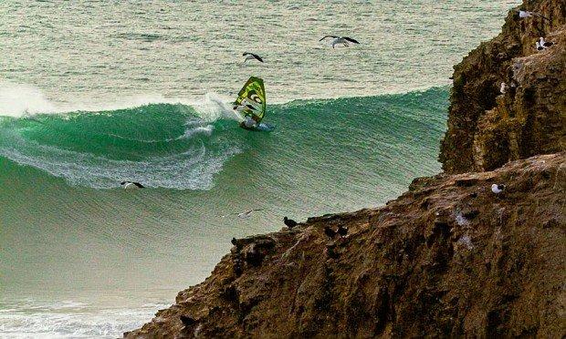 """Windsurfing Punta de Lobos"""