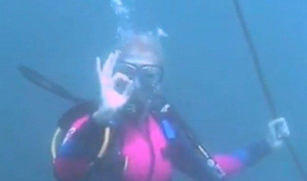 """Scuba Diving at Kisima Mungu"""