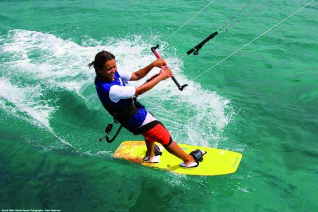 """Kitesurfing in Bibra Lake Western Australia"""