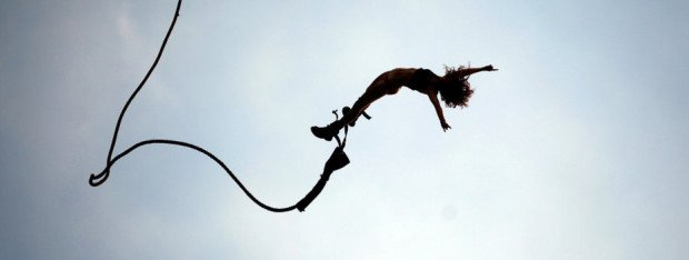 """""""Bungee Jumping at Gravity Adventure Park"""""""
