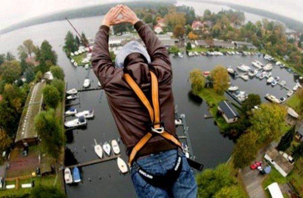 """""""Bungee Jumping in Schönefeld"""""""