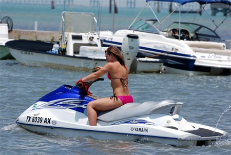 """Jet Skiing at South Padre Island"""