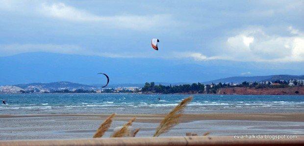 """""""Kitesurfing in Liani Ammos Beach"""""""