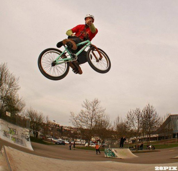 """""""Lohhof Skatepark-Bikepark BMX riding"""""""