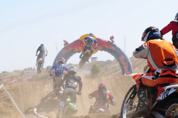 """Motocross in Serres Motocross Park"""