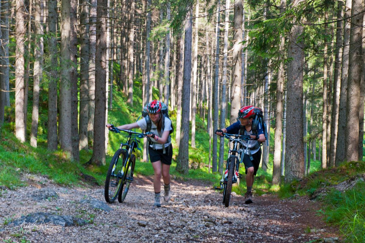 """""""Mountain Biking the Dolomiti Lagorai Bike Tour stage 3"""""""