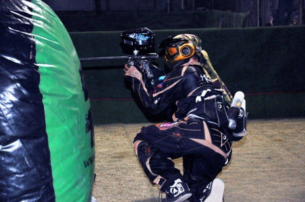 """Paintball game in Berlin Spandau"""