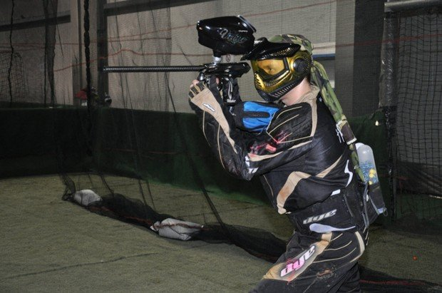 """Paintball game in Berlin-Spandau"""