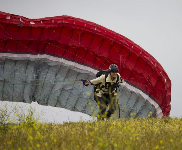 """Paragliding Carmona Ridge"""
