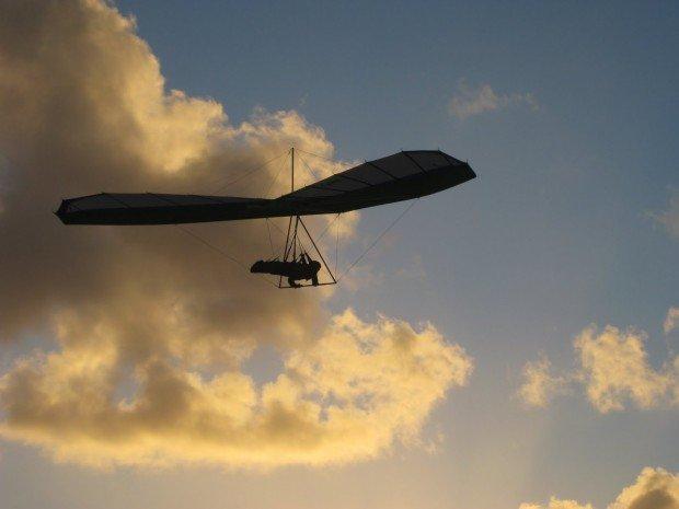 """""""Paragliding at Mosman Park"""""""