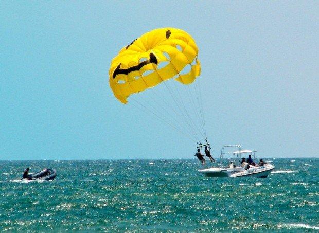 """""""Parasailing at South Padre Island"""""""