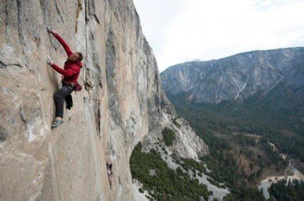 """Rock Climbing in Bromberg"""