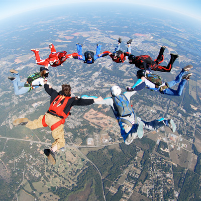 Skydiving At Myrtle Beach