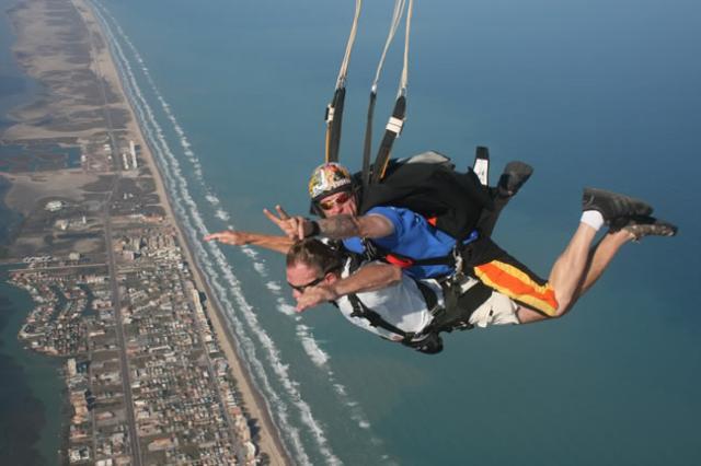 Skydiving South Padre Island Corpus Christi Texas Usa