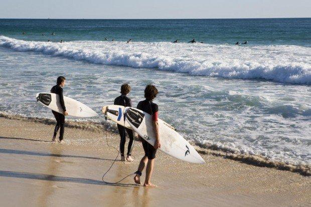 """""""Surfing at Trigg beach Western Australia"""""""