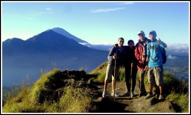"""Trekking around Batur Caldera"""