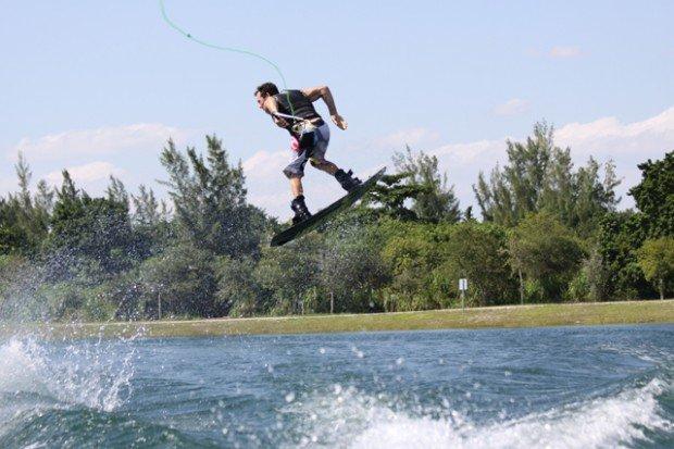 """Wakeboarding at Amelia Earhart Park"""