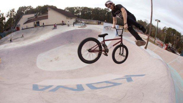 """BMX Freestyle at Kona Skatepark"""