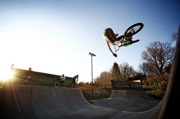 """""""BMX Rider in Graz"""""""