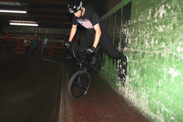 """BMX Vert at Skatepark of Tampa"""