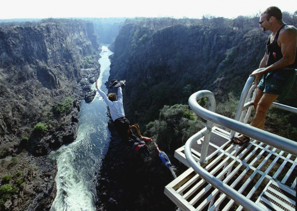 Bungee Jumping Victoria Falls Livingstone Zambia