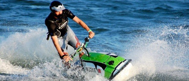 """Jet Skiing at Virginia Beach"""