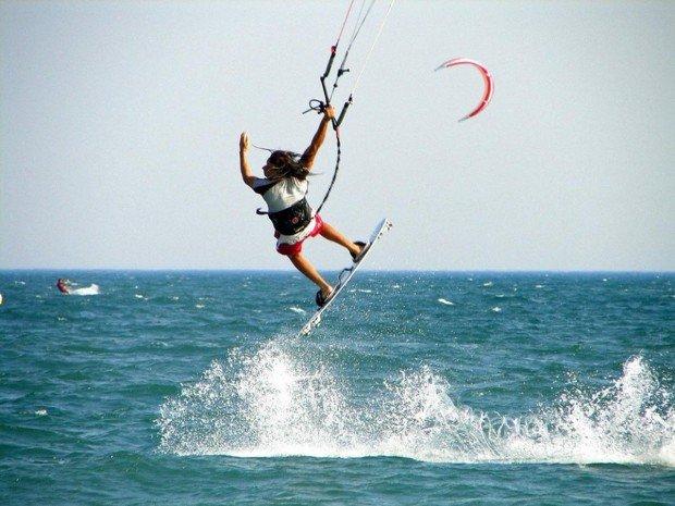 """""""Kitesurfer in Yvonand"""""""