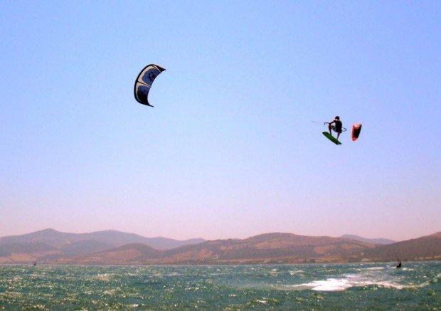 """""""Kitesurfing in Saint Blaise"""""""
