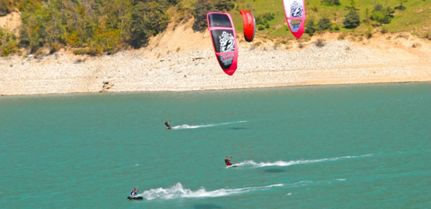 """Lac du Monteynard Kitesurfers"""