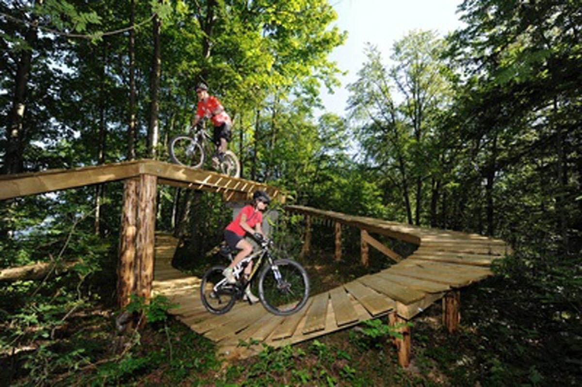 Mountain Biking North Shore Emmetten Bike Arena Lucern