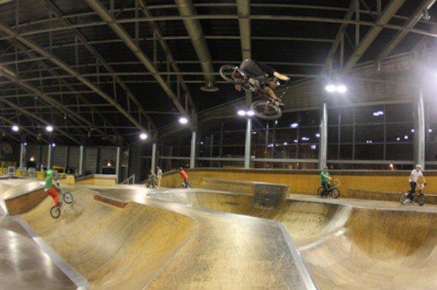 """""""Palais de La Glisse BMX Riding"""""""