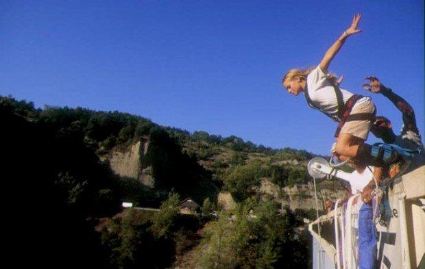 """""""Pont de Ponsonnas Bungee Jumping"""""""