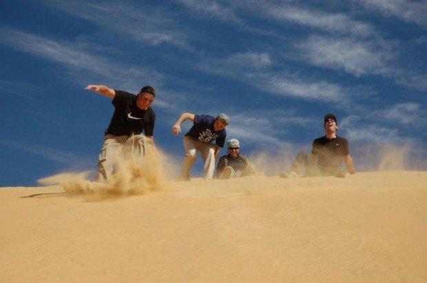 """""""Sandboarding in Bahariya Oasis"""""""