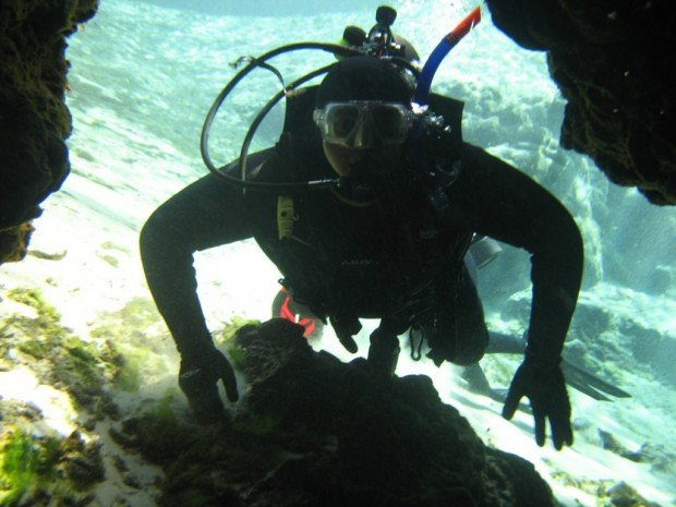 """Scuba Diving at Alexander Spring"""